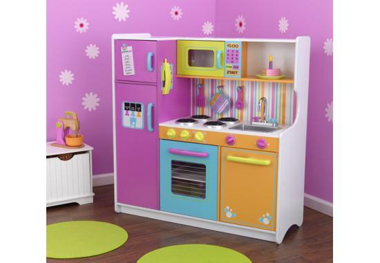 Detsk kuchynka deluxe kidkraft pieskovisk detsk for Cocina de juguete step 2