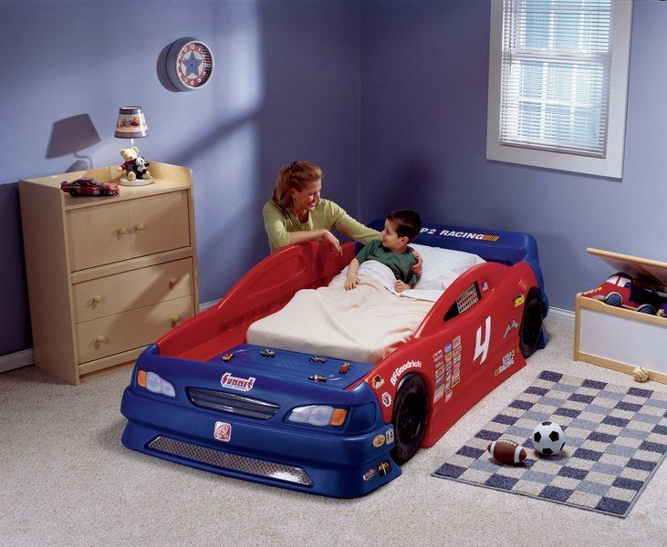 d305ebcac80f STEP2 Detská posteľ Kabriolet - auto snov