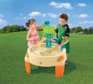 Herný stolík Waterpark,piesková STEP2,detský stolík na vodu a piesok,pieskovisko
