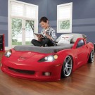 STEP2 Detská posteľ auto Corvette