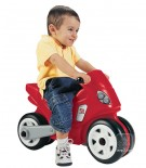 Odrážadlo,detská motorka červená