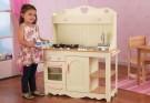 kuchynka,drevené detské kuchynky,detská kuchynka Prairie drevená