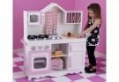 detská kuchynka Modern Country,drevená detská kuchynka